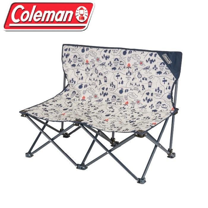 Coleman CM-33438 露營地圖情人椅雙人椅戶外椅休閒椅折疊椅-大營家登山露營