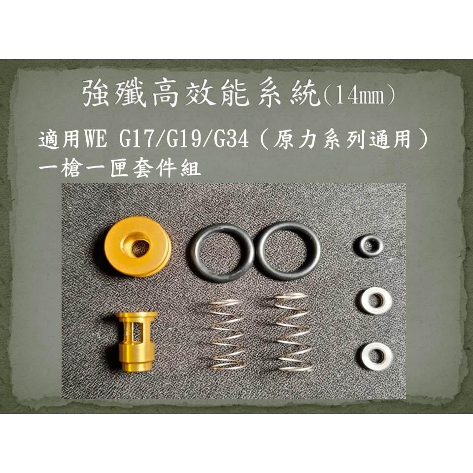軍需堂高效能強殲系統 Glock 17 克拉克17 19 34 IDPA IPSC 【HONOR FORCE-榮譽武力】