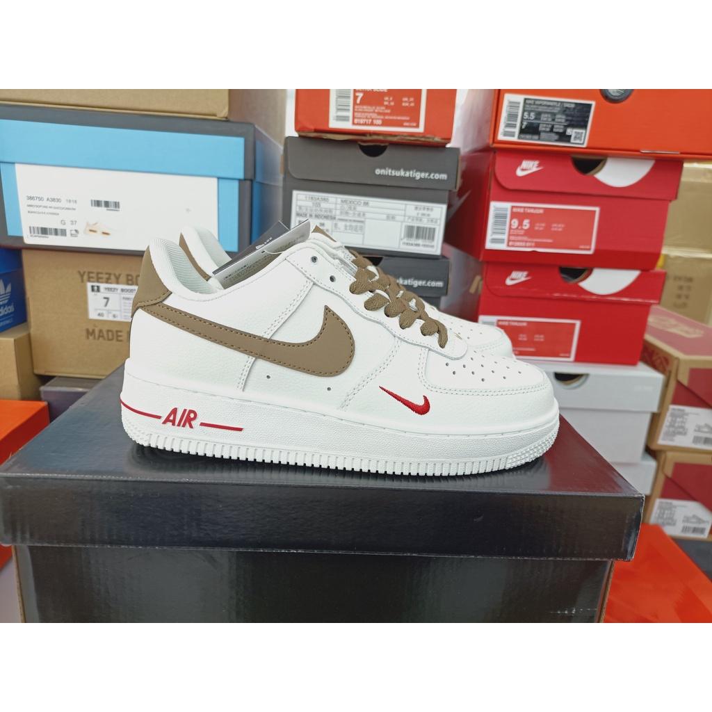 耐吉Nike Air Force 1 Low 空軍一號低幫 奶咖 運動休閑鞋 小白鞋 板鞋 男女鞋