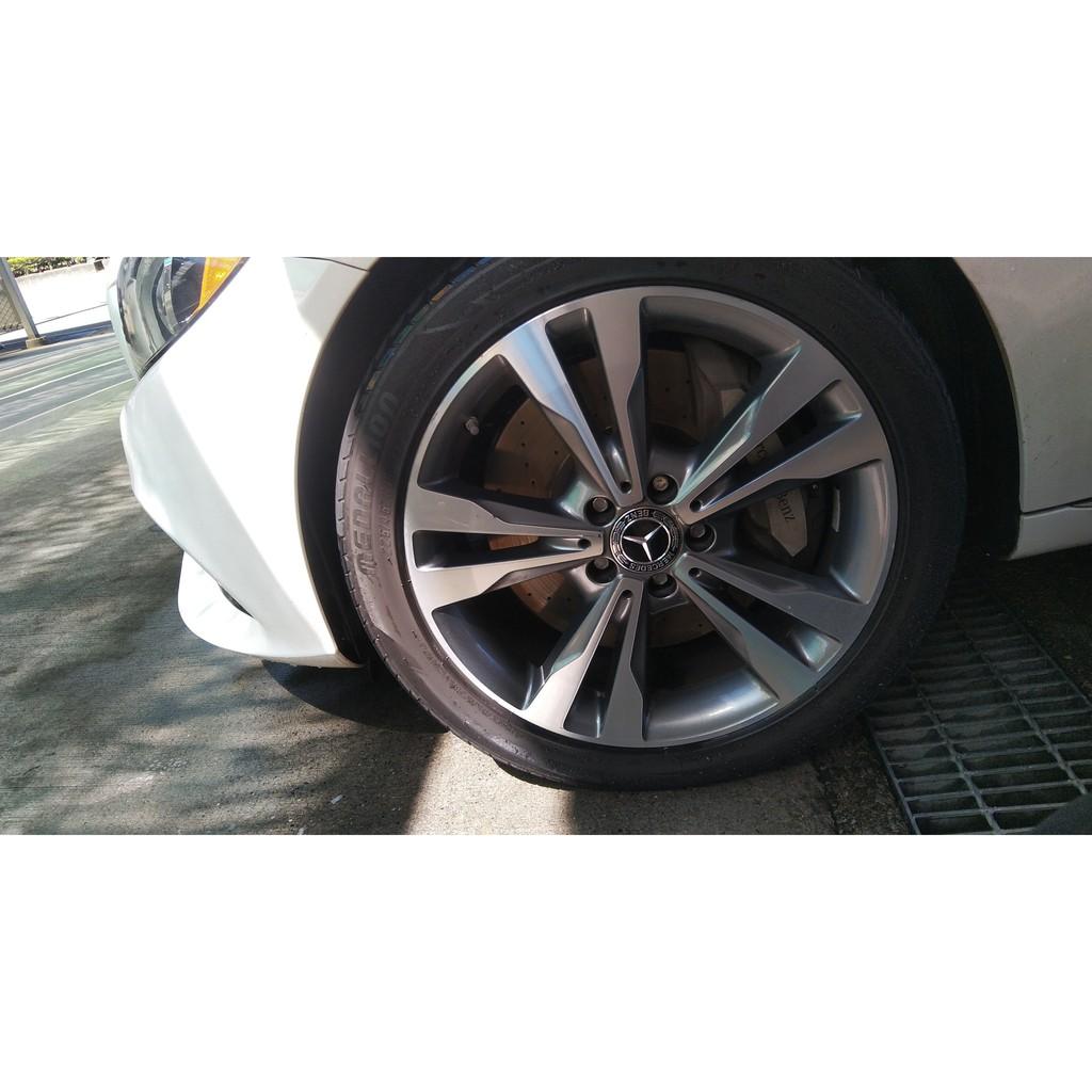 出清賓士Mercedes Benz W205 C300 Avantgarde 原廠鋁圈前後配一套(含7成前輪胎兩條)