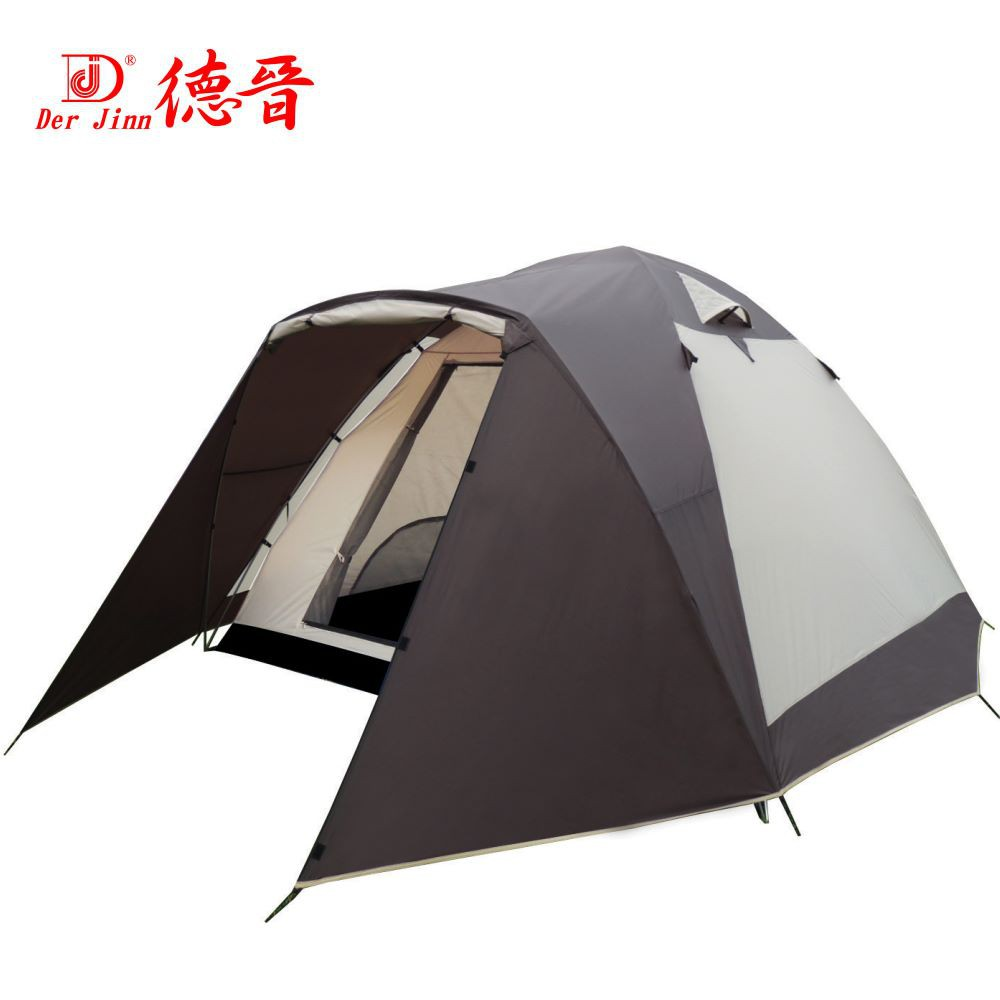 【Der Jinn德晉】876 前延式帳篷+銀膠300型 露營帳篷 家庭帳篷 6~8人帳篷