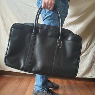 降價!正品▪COACH F77188 經典方型真皮手提/ 肩背行李袋/ 出差包/ 出差旅行包▪二手▪9成新 台北市