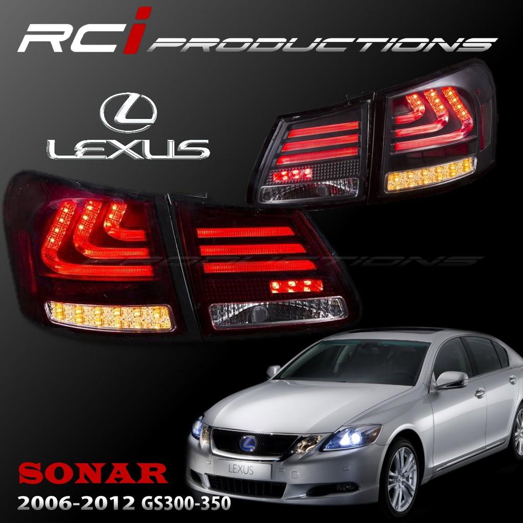 SONAR LEXUS GS350 GS300 GS430 LED 光柱型 尾燈組 LED方向燈