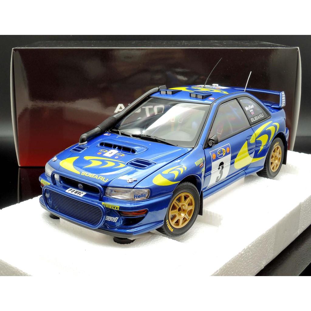 Autoart 1/18 Subaru Impreza WRC 1997 #3 Champion MASH