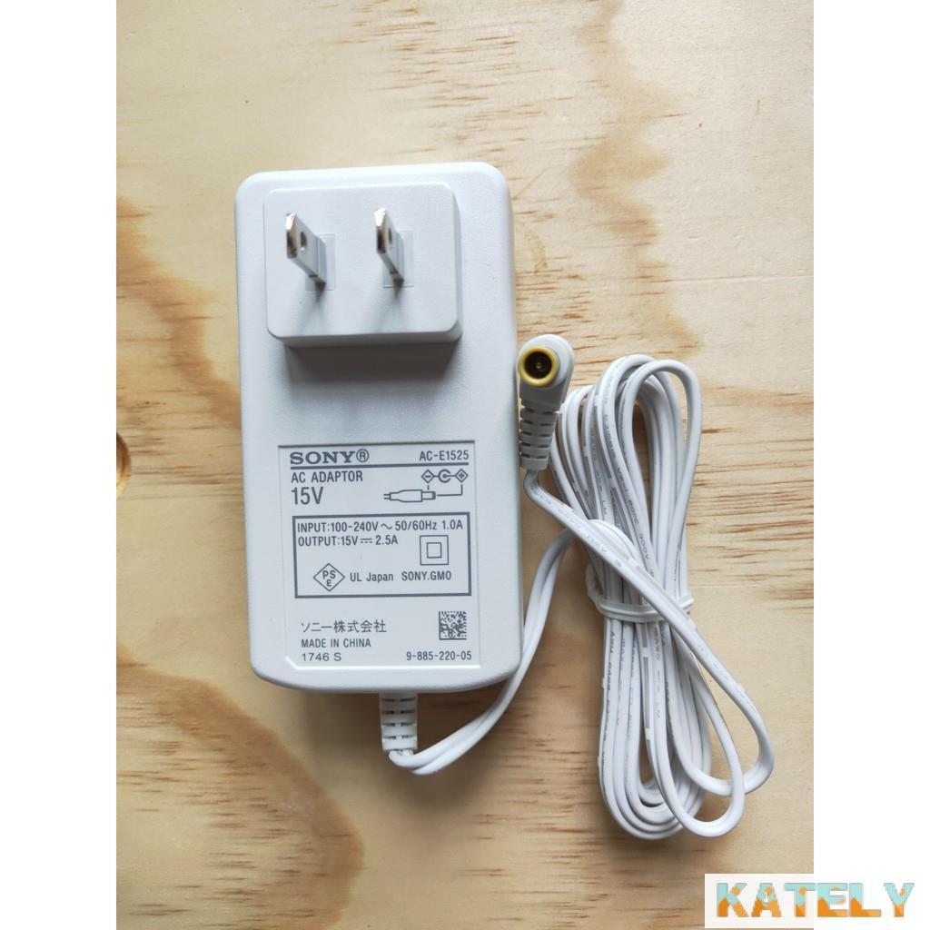 Kately優選全新原裝SONY索尼藍牙音箱SRS-X5 X55 BTX300電源適配器 SONY15V2.5A