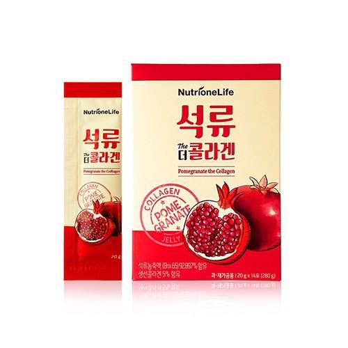 韓國 Nutrione 紅石榴膠原蛋白果凍