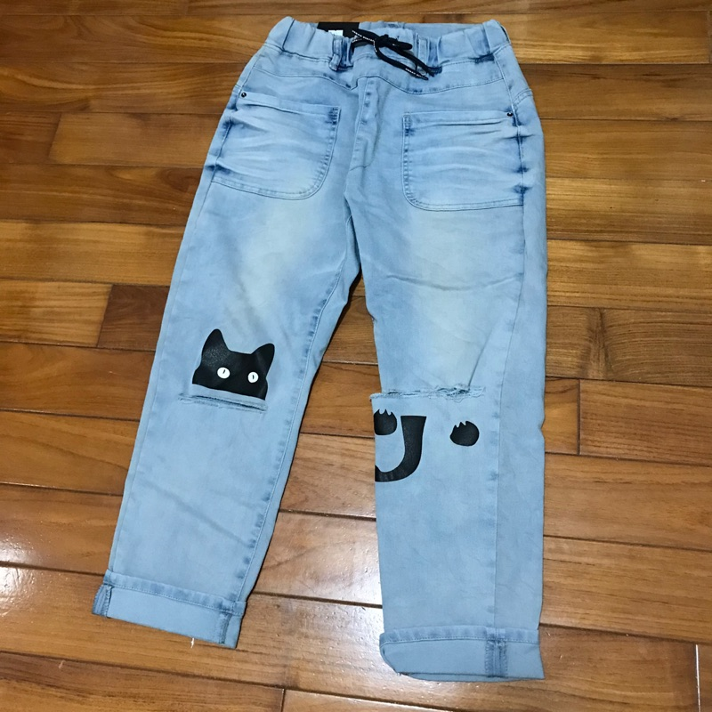 🎉正韓korea製 YANU JEANS🎉寬版型軟布牛仔褲
