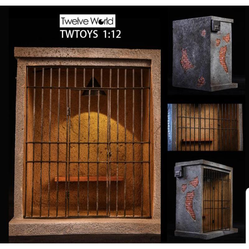 【現貨最後一盒】TW1919 TWToys 監獄場景1/12 6吋