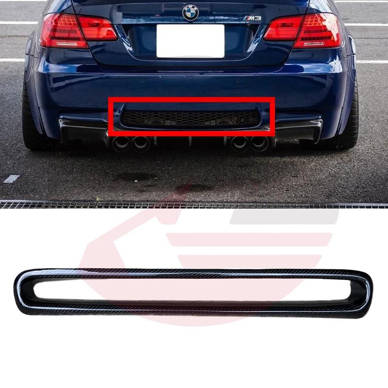 KP擎利國際 BMW E92 E93 M3 正M3專用 雙門/敞篷車型專用 碳纖維 後保桿中網框 中網外框 飾蓋