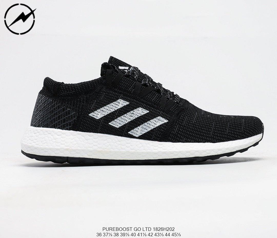 Adidas Pureboost Go W 愛迪達全掌爆米花針織透氣跑鞋02