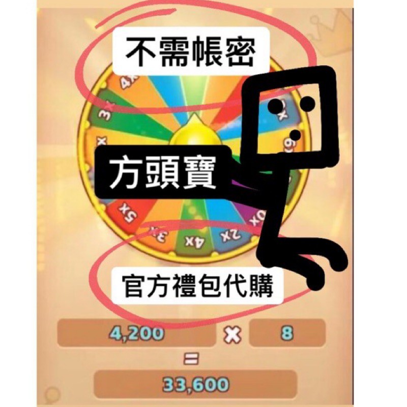 《方頭寶》《不用帳密❗️》💰官方購買 Coin Master 💰能量包 能量轉盤 4200~37800能量 超商轉帳刷卡
