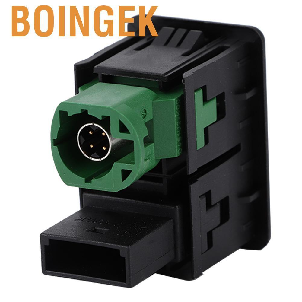 Boingek 1x Rcd510 + 310 + 300 + Rns315 Aux Usb 開關電纜適用於 Mk6 C