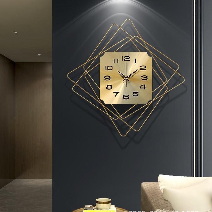 【精選推薦】個性創意時裝潢鐘時尚客廳鐘錶北歐輕奢鐵藝掛鐘