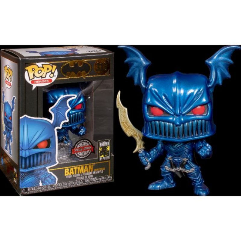 柴寶趣 FUNKO POP 313 蝙蝠俠 無情戰神 藍色 BATMAN THE MERCILESS 正版
