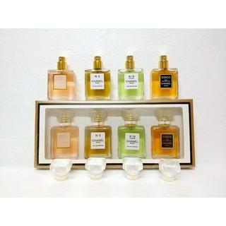 全新品香奈兒 四件套Chanel香水組合每瓶20mlcoco+5號+19號+半黑 女生香水 魅力持久留香香水 送禮包裝 台北市