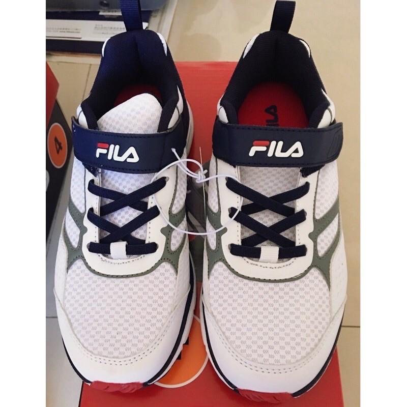 🔥現貨24H出貨🔥costco FILA 白色兒童運動鞋(22.5cm)