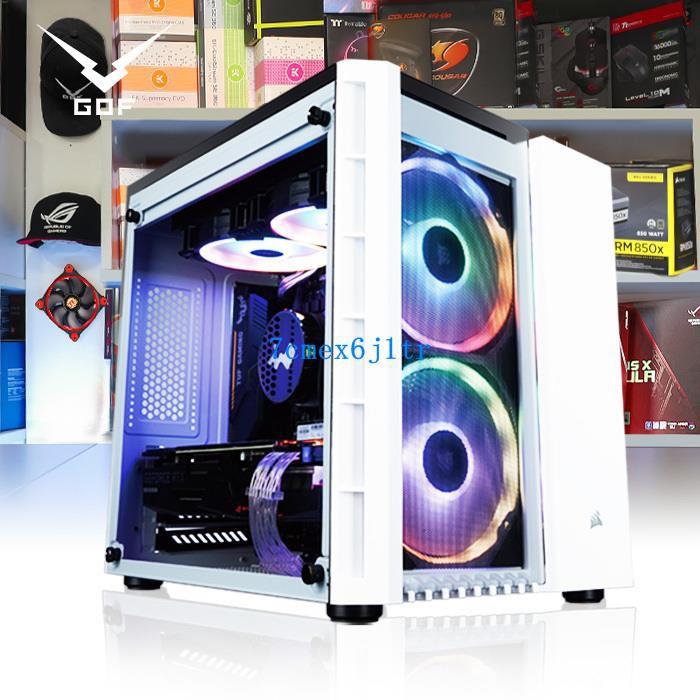 GOF工蜂×海盜船I7 9700K/RTX2070 ITX水冷主機 組裝電腦臺式整機