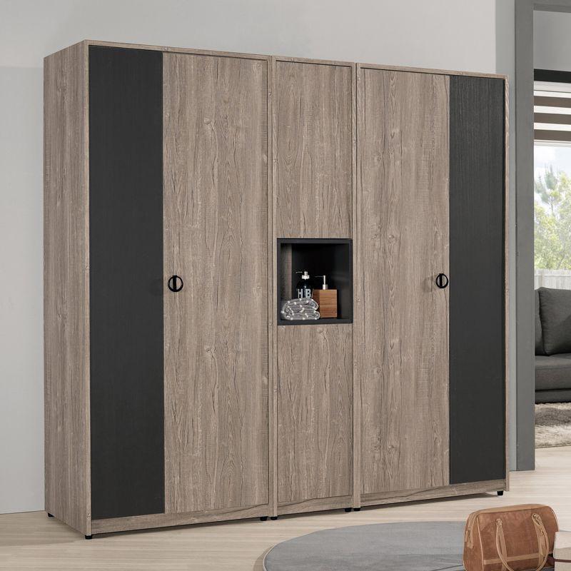 【MB509-1】費納6.7尺組合衣櫥(全組)