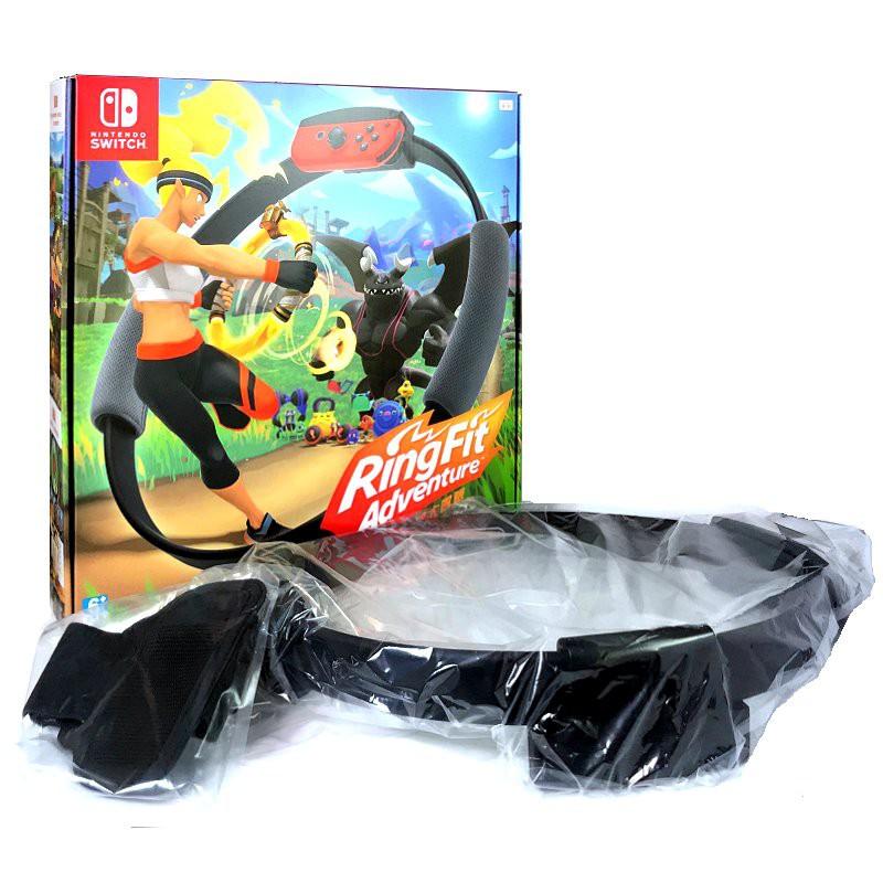 Nintendo Switch 週邊 任天堂原廠 健身環大冒險 健身環+腿部固定帶 健身冒險 【全新 不含遊戲】臺中星光