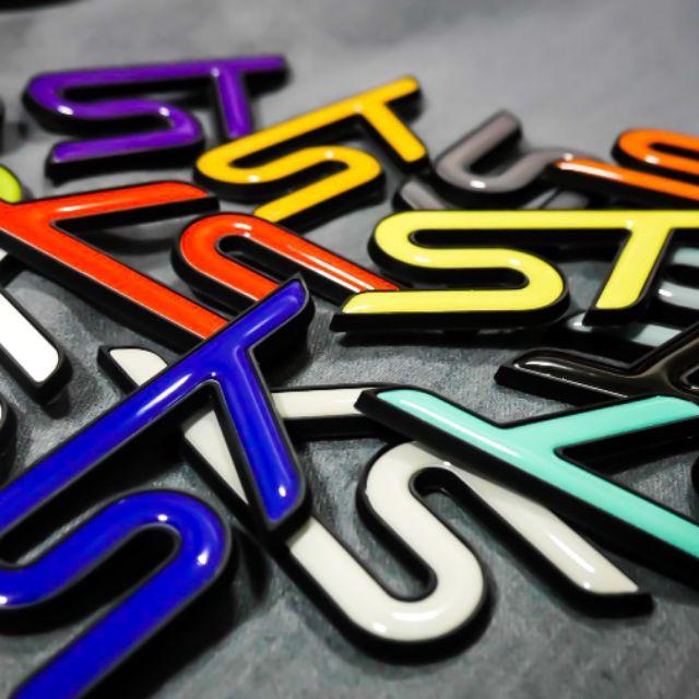 CYZONE Ford focus kuga fiesta ST LOGO 標誌 凝膠貼  客製化 詢問區