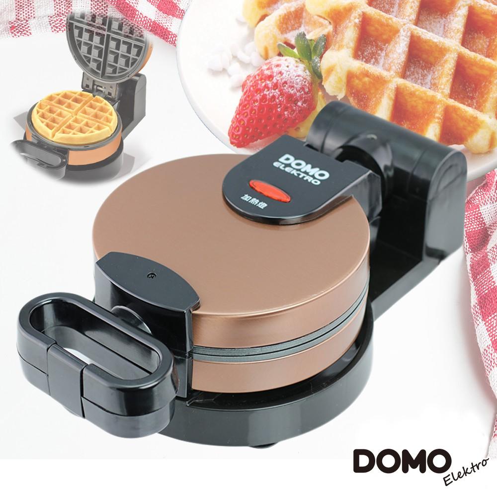 DOMO 不鏽鋼翻轉式鬆餅機DM9006AWT