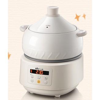 《現貨》《現貨》小熊電汽鍋隔水電燉鍋煲湯家用全自動陶瓷汽鍋雞燕窩陶瓷砂鍋燉盅