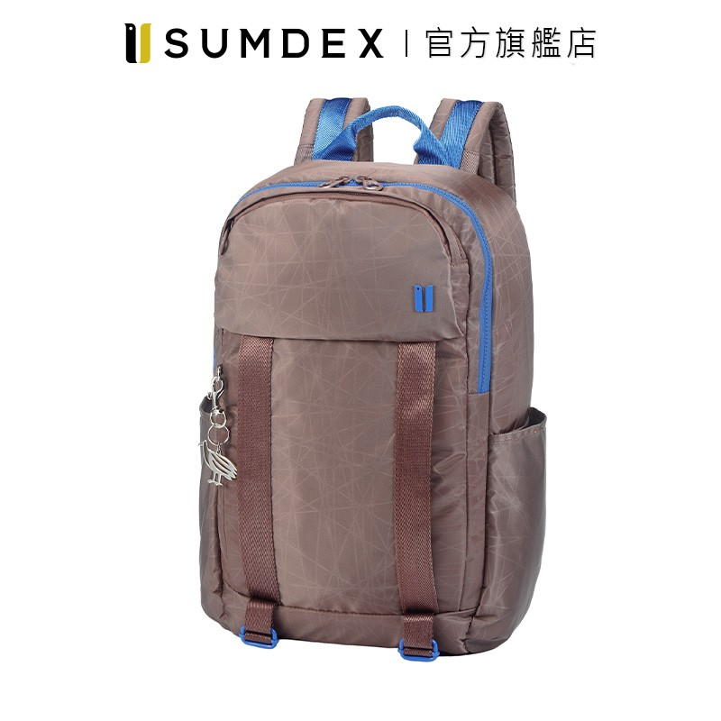 Sumdex 樂.遊 防盜空間後背包 NOD-612DP 咖啡色 官方旗艦店