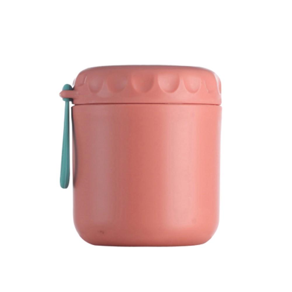 日式時尚304不銹鋼430ml外出攜帶環保茶湯杯/粥杯/密封罐