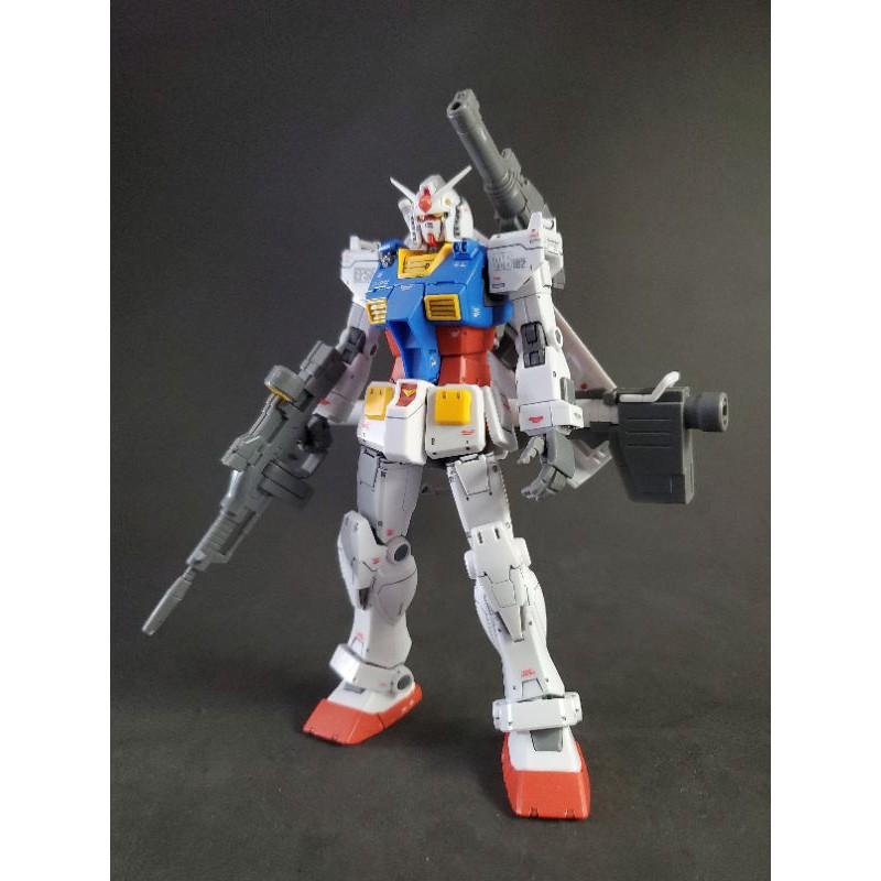(完成品)HG RX-78-02 鋼彈 (GUNDAM THE ORIGIN版)