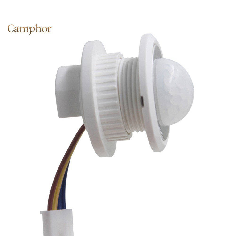 【廠家直銷】(現貨秒發) 光控感應 人體感應 紅外線感應40mm 寬電壓Led感應開關感測器 紅外線人體可調感應器