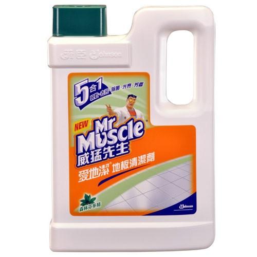 威猛先生愛地潔地板清潔劑-芬多精2000ml【愛買】