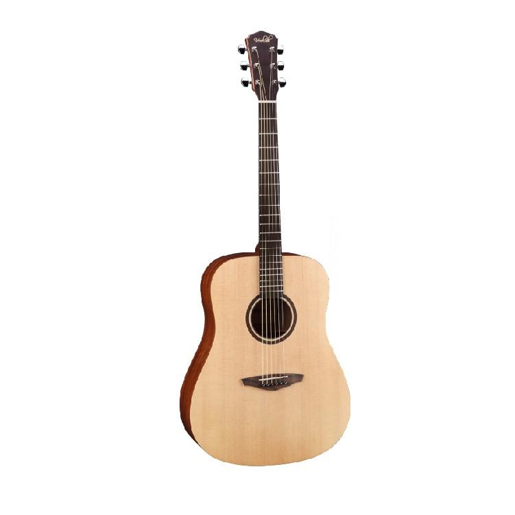 Veelah V1-D V1 雲杉單板/側背桃花心木 41吋 民謠吉他 木吉他 D桶 D
