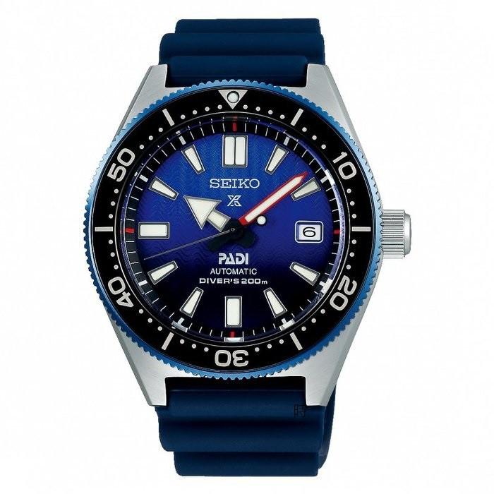 SEIKO 精工Prospex PADI深海藍鯨200米潛水機械錶 SPB071J1 藍 6R15-04B0B