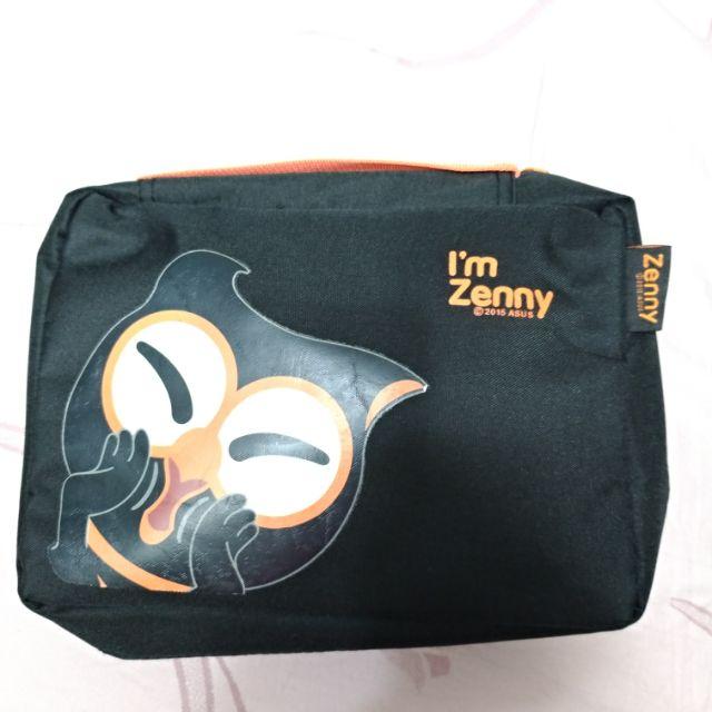 ASUS 暗光俠 Zenny 旅行組 (收納包/頸枕/眼罩/行李箱束帶)