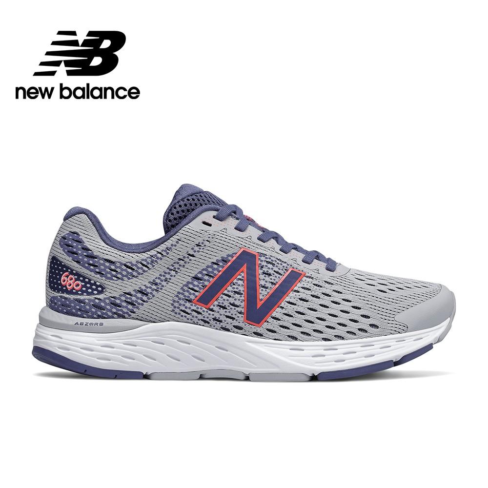 【New Balance】輕量跑鞋_女性_淺紫_W680AM6-D楦 680