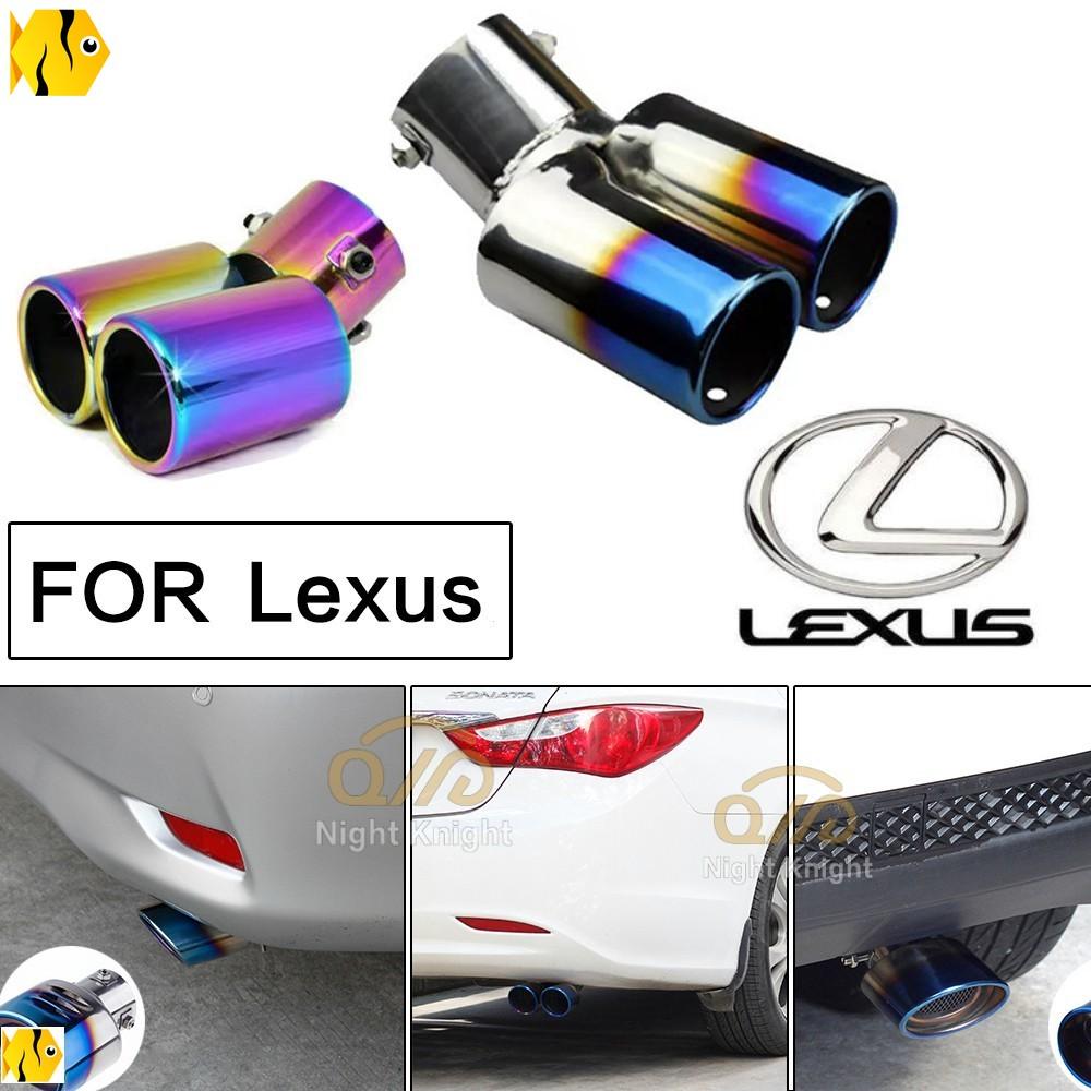 汽車尾管 尾喉烤藍消音器改裝排氣管 凌志NX/ES/IS 200H nx200 ux200 rx300 ct200h適用