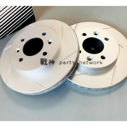 【戰神-汽車零件網】TOYOTA豐田 WISH JASON 前 碟盤 煞車盤 剎車盤 畫線鍍鋅盤X2片組 04年後