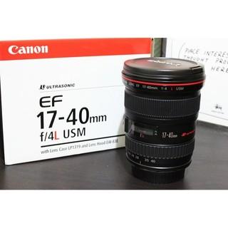 鏡頭 Canon EF 17-40mm f/ 4L USM公司貨 (9成5新) 臺北市