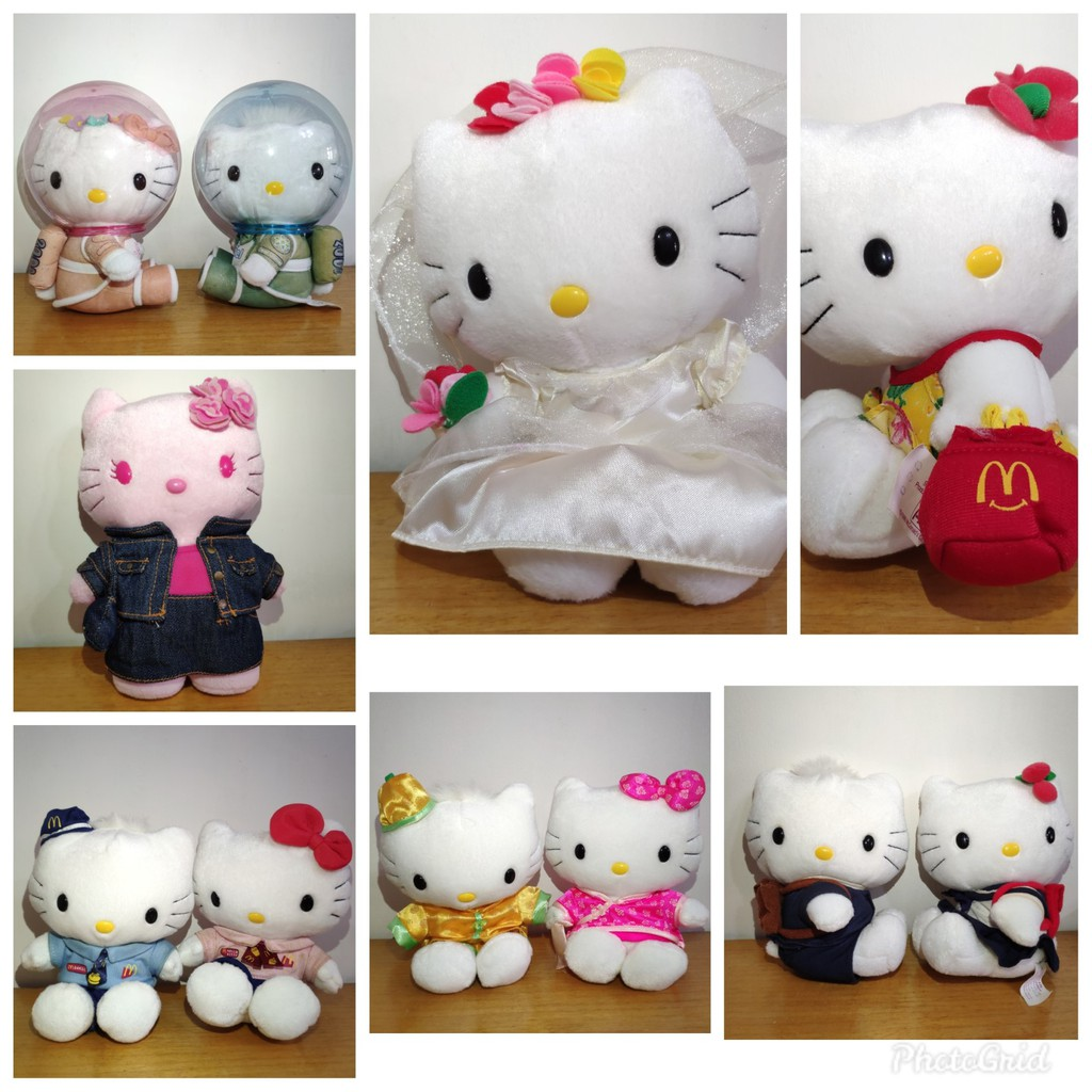 麥當勞 1999/2000 hello kitty 限量娃娃
