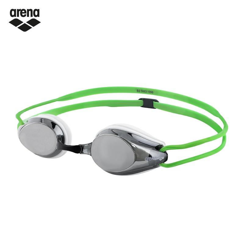 arena AGG-280M WSRN 競速電鍍泳鏡-鍍銀綠