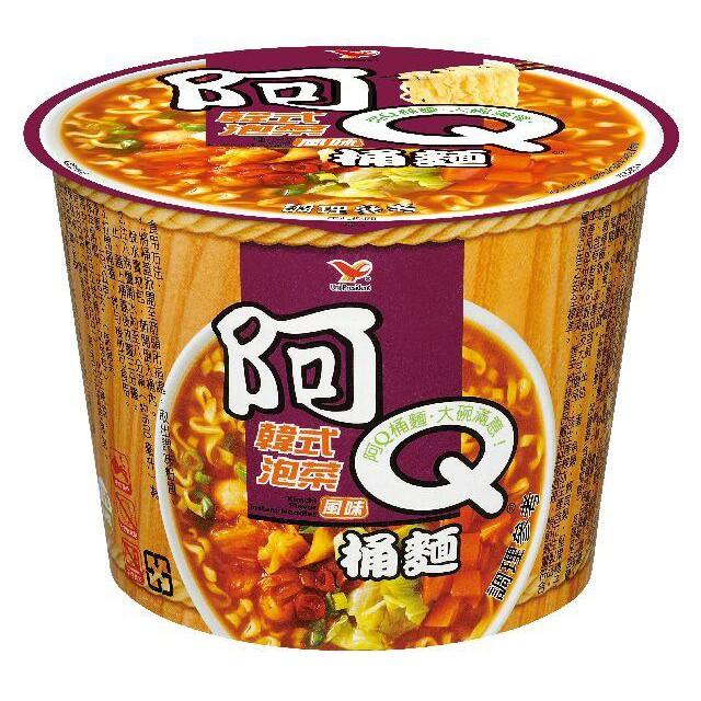 阿Q桶麵_韓式泡菜風味(12碗/箱)超商取貨一箱