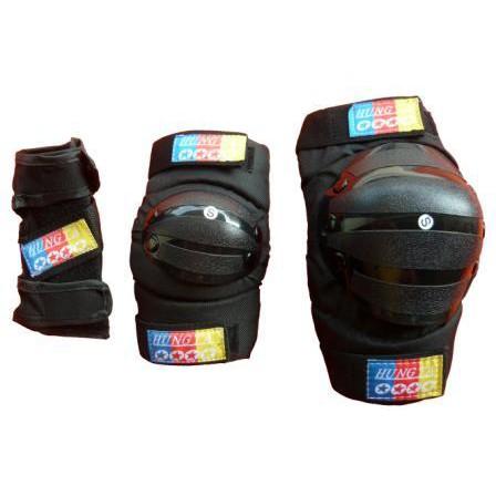 台灣製造MIT [直排輪-護具組]-(護手+護肘+護膝)-教練指定品牌 HUNGTA鴻達直排輪