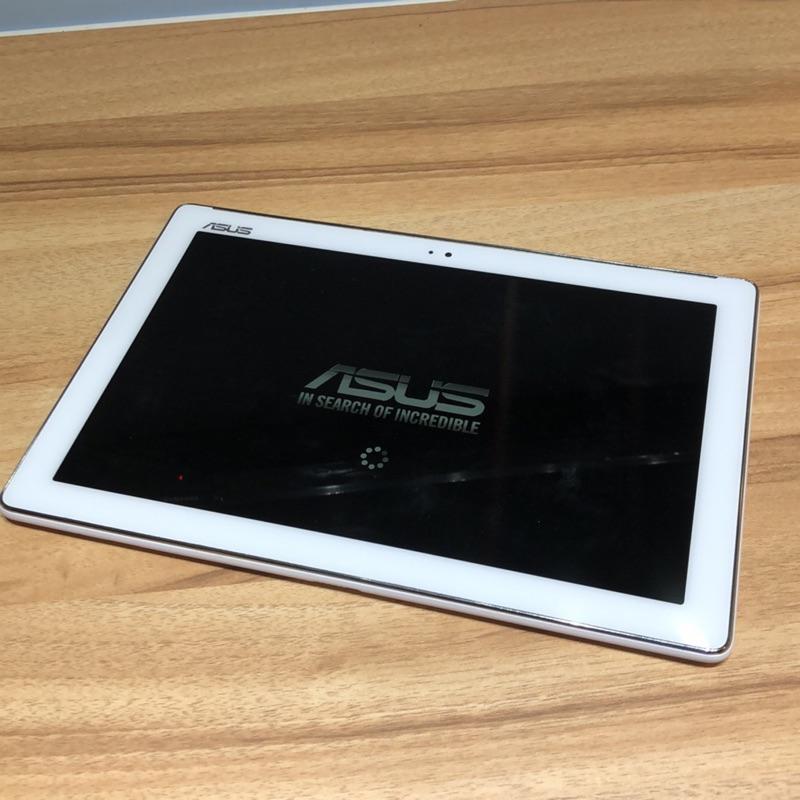 追劇神器☺️Asus 10吋 平板電腦 白色 功能正常 zenpad 二手機