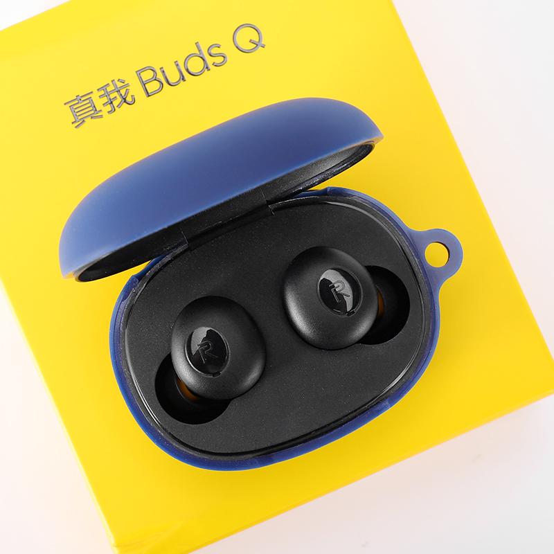 🔥READY STOCK! Realme Buds Q耳機防摔保護套Realme Buds Q耳機套超薄液態矽膠保護殼