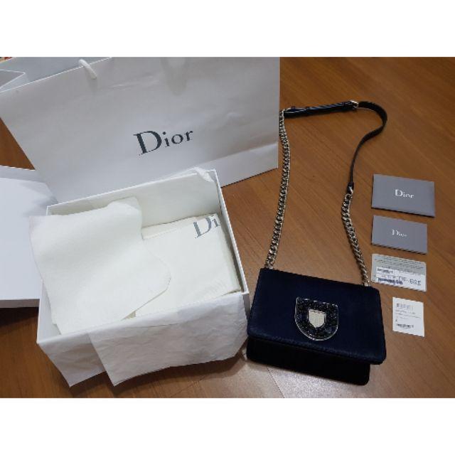 100%正品 Dior名牌精品包Diorama Club 馬毛 限定絕版款