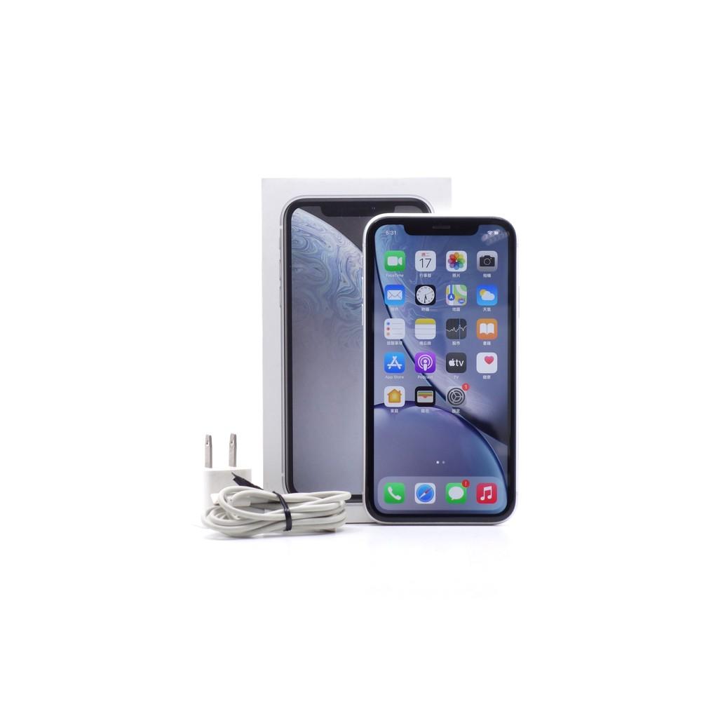 【莫比爾3C】Apple iPhone XR 白 64G 64GB 二手 6.1吋 蘋果手機 #57731