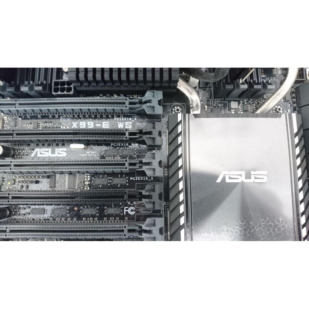 中古 Asus x99-E WS  LGA2011-3 主機板