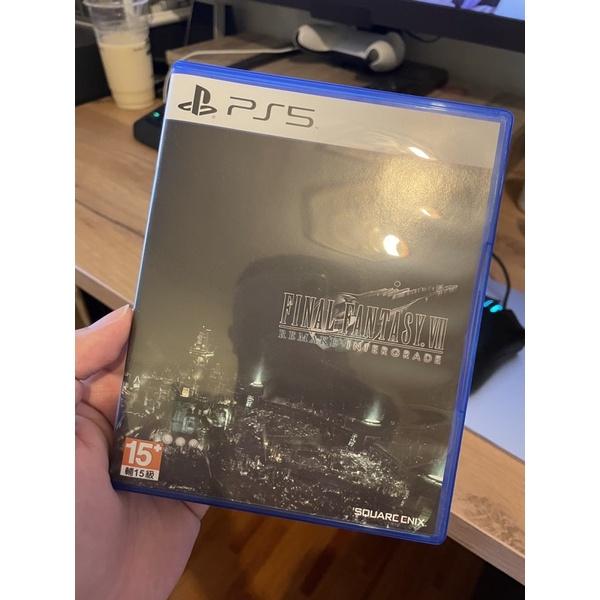 PS5版  無特典 FF7R FINAL FANTASY VII REMAKE INTERGRADE 中文 99新