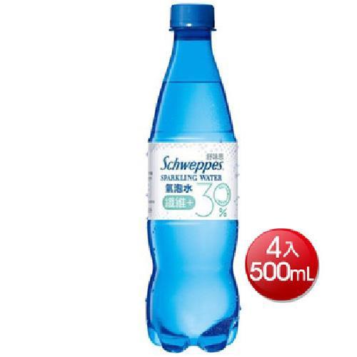 舒味思 氣泡水纖維+(500mlx4)[大買家]