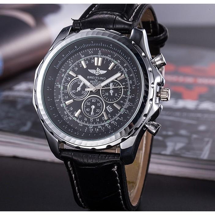 √ 百年靈手錶 breitling 男士手錶 限時特賣 防水手錶 皮帶手錶 登山手錶 3款現貨 交換禮物 送男友